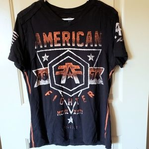 American Fighter | V-Neck Fighter Fitted Tee
